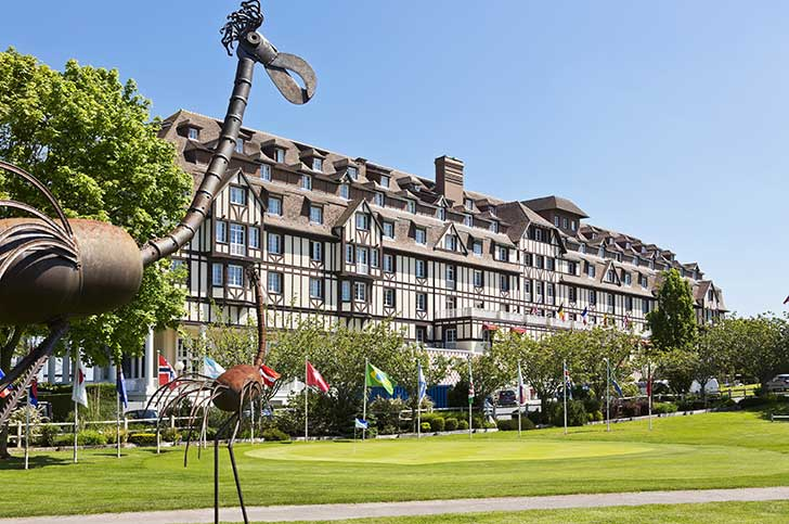 Hôtel du Golf Barrière à Deauville pour votre séminaire en Normandie avec Normandy DMC