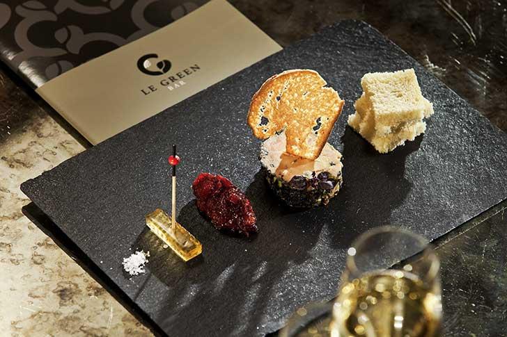 Gastronomie à l'Hôtel du Golf Barrière à Deauville