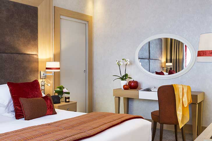Chambre de l'Hôtel du Golf Barrière de Deauville