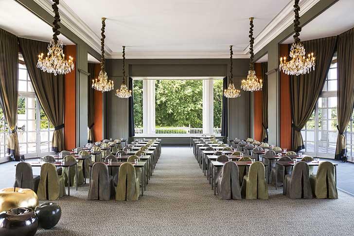 Salle de réunion à l'Hôtel du Golf Barrière à Deauville
