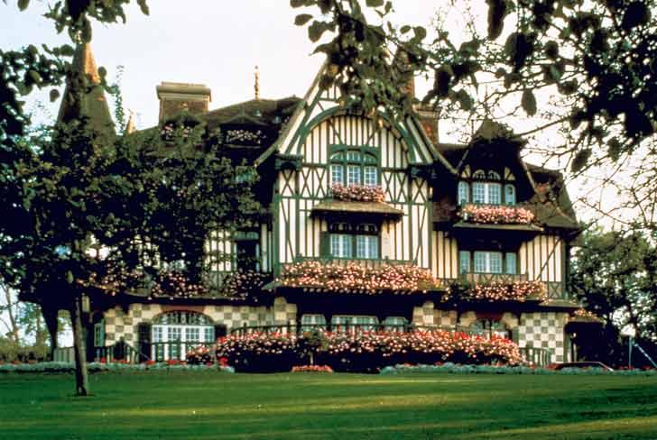 La Villa Strassburger à Deauville