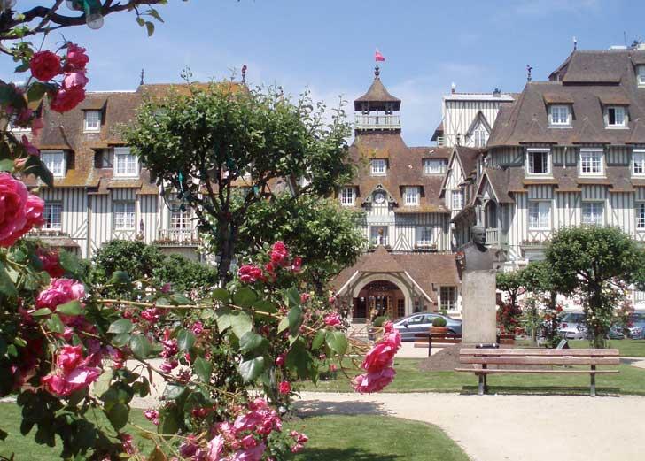 L'hôtel Normandy Barrière à Deauville