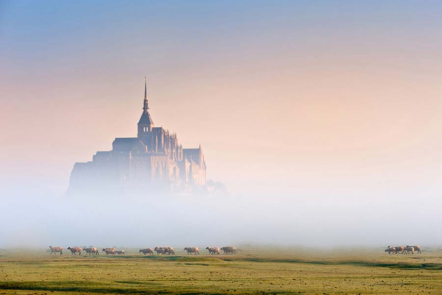 Le Mont Saint-Michel pour votre comité de direction en Normandie
