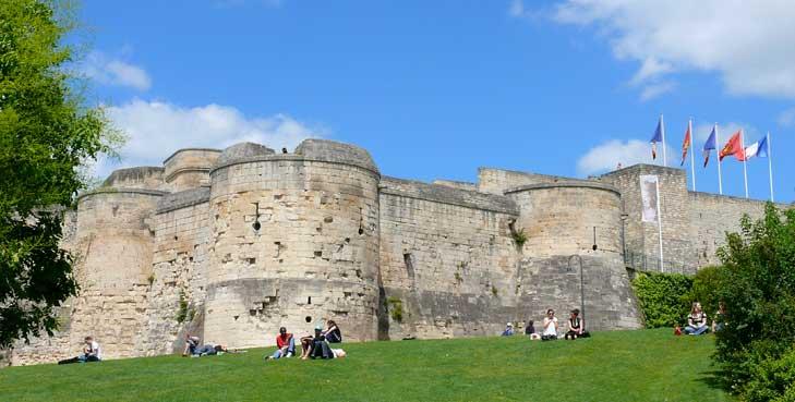 Château de Guillaume le Conquérant à Caen