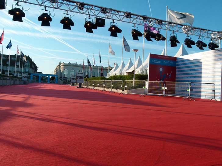 Tapis rouge au Festival du Cinéma Américain de Deauville