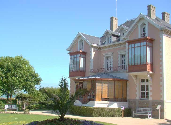 Musée et jardin Christian Dior à Granville