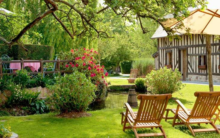 Hotel dans la campagne normande, des prestations - comme à la maison, près d'Honfleur