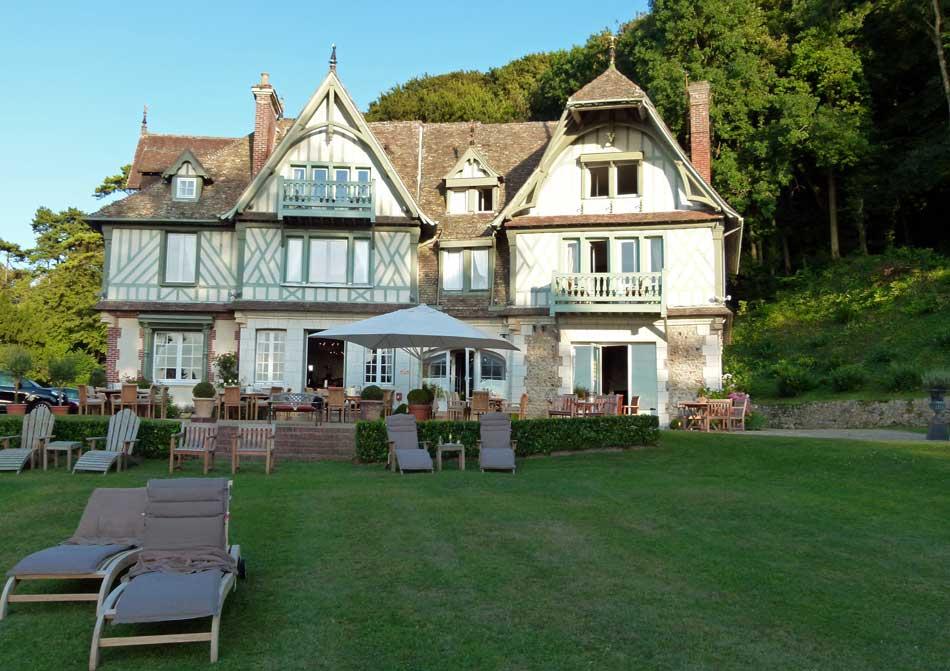 Manoir à Honfleur, un Hôtel pour séminaires, ou comité de direction en Normandie