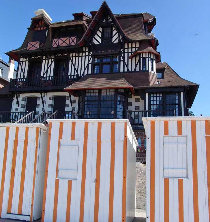 Villa balnéaire à Houlgate sur la cote Fleurie