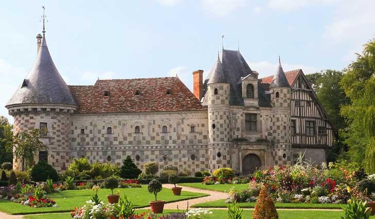 Le chateau de Saint Germain de Livet en pays d'Auge