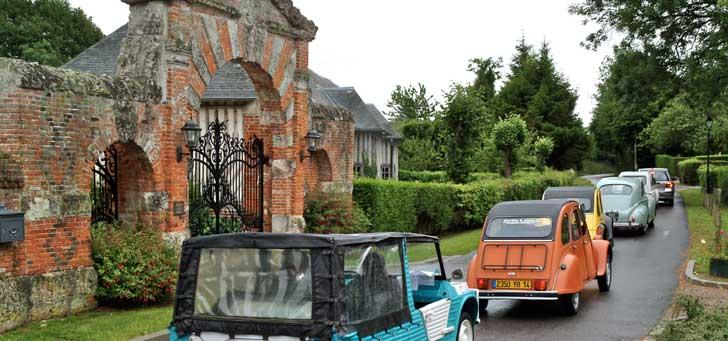 Rallye en voitures ancienne pour découvrier le pays d'Auge