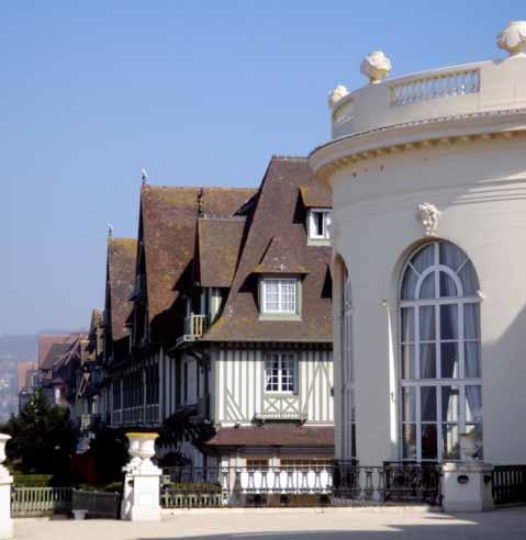 Hôtel Barrière à Deauville, gage de raffinement et de grande qualité hôtellière