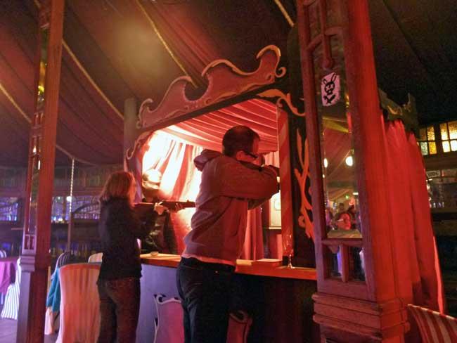 Cocktail dinatoire et soirée fête foraine au Havre