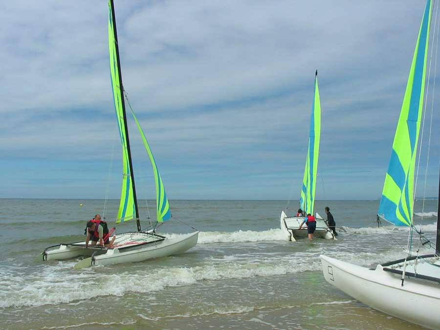 Activité catamarans