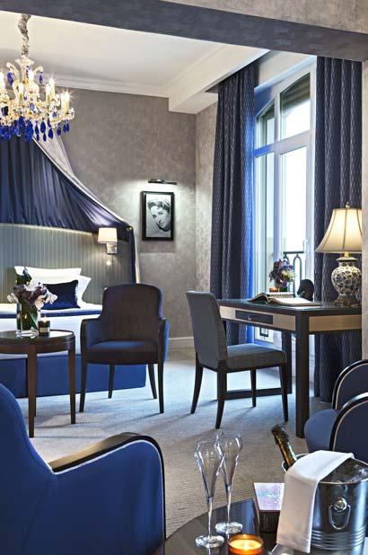 Chambre d'hôtel pour séminaire à Deauville