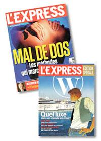 L'Express de mai 2012
