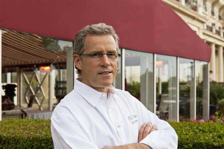 Eric Provost cuisinier du Royal Barrière
