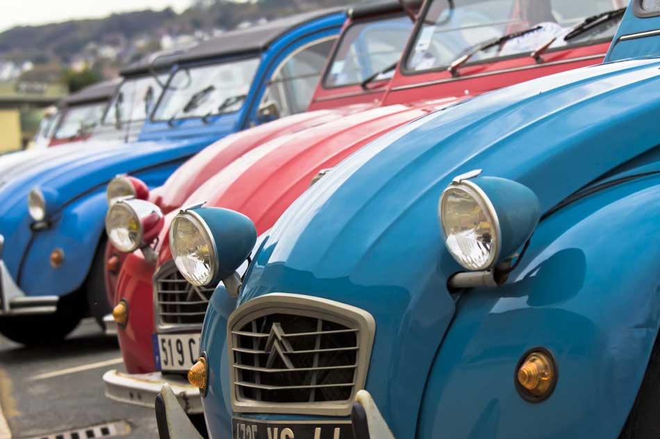 Séminaire Incentive en Normandie RallyeCitroen 2 CV