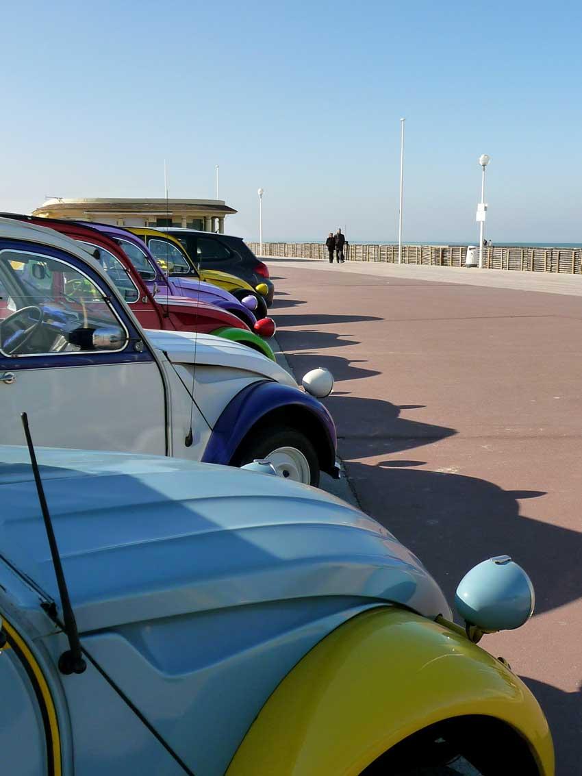 Activité en Normandie Rallye Citroen 2 CV