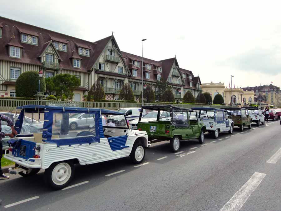 Rallye en Méhari à Deauville pour incentive en Normandie