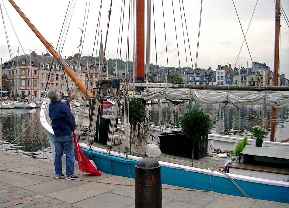 Vieux gréements à Honfleur pour incentive en Normandie| © RECEVOIR EN NORMANDIE