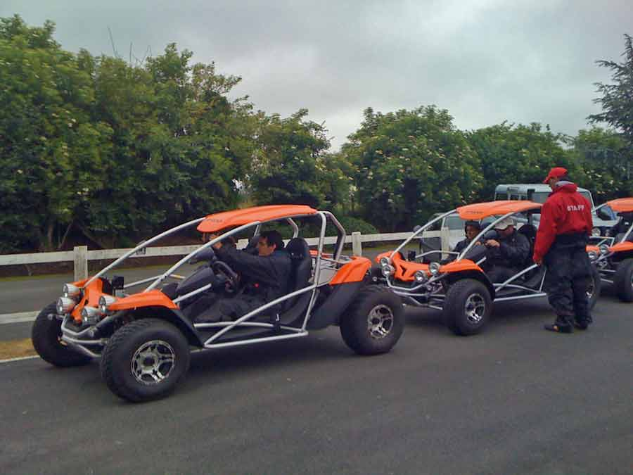 Activité team-building en Normandie - une balade en buggy