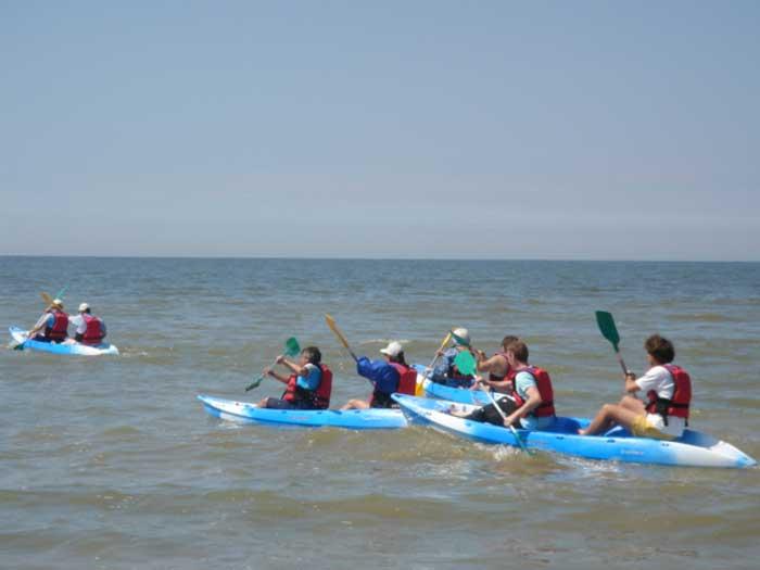 Activité kayaks de mer pour vos séminaires à Deauville