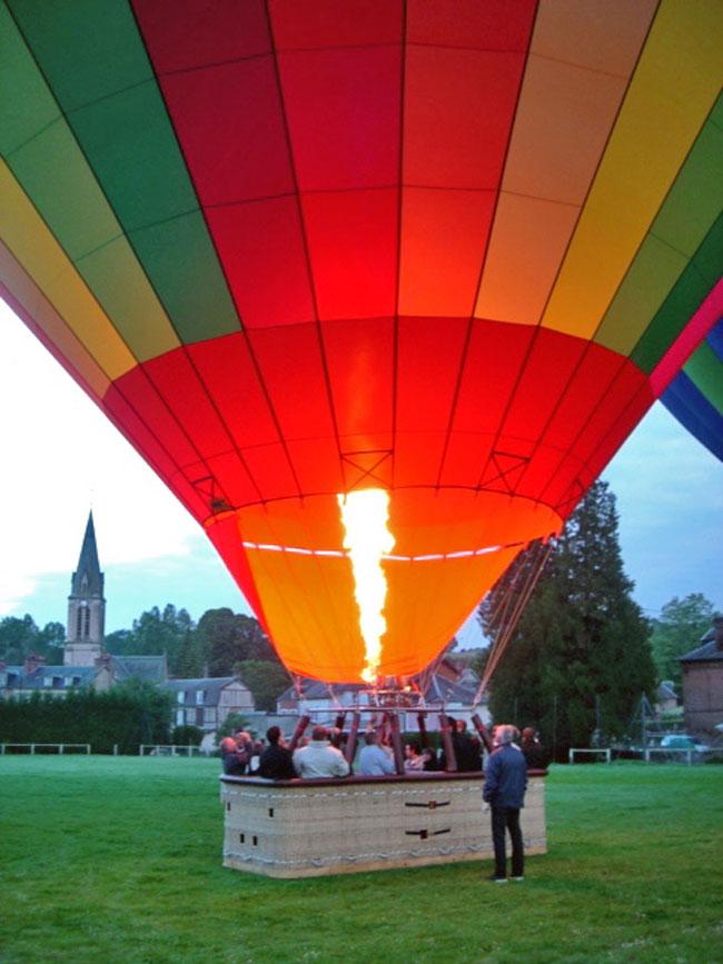 Activité montgolfière pour votre Comité de Direction en Normandie