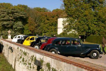 Activité rallye en voiture de collection