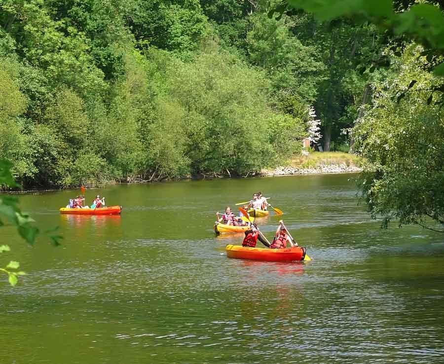 Activité canoe à Clécy en Suisse Normande