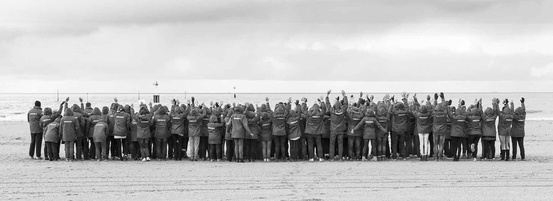 Challenge sur la plage à Deauville