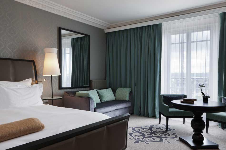 Une chambre du Grand Hôtel de Cabourg