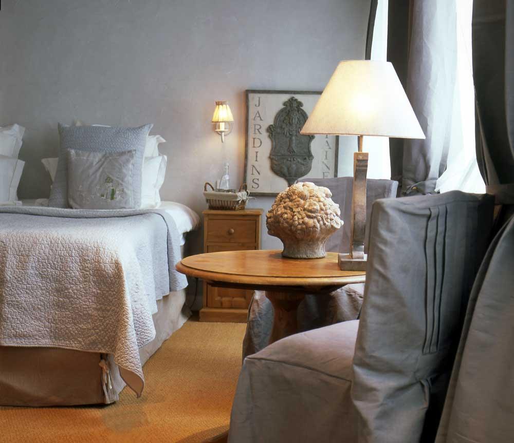 Une chambre de l'hôtel SPA Les Maisons de Léa