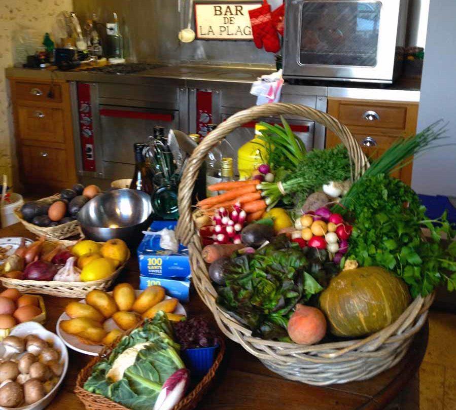 Cours de cuisine avec Normandy DMC