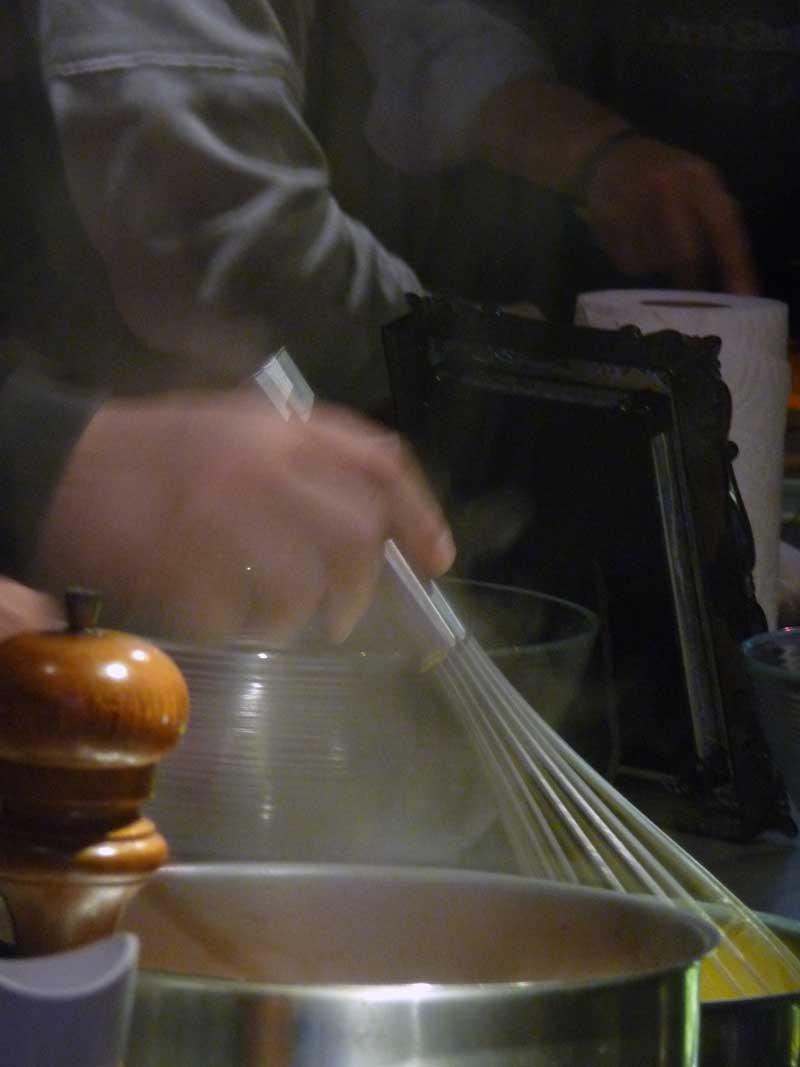 Cours de cuisine, activité team learning, pour incentive en Normandie