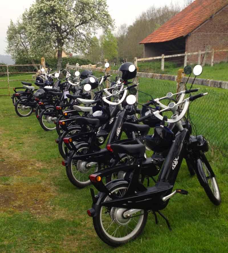 Activité pour séminaire au vert en Normandie le e-solex