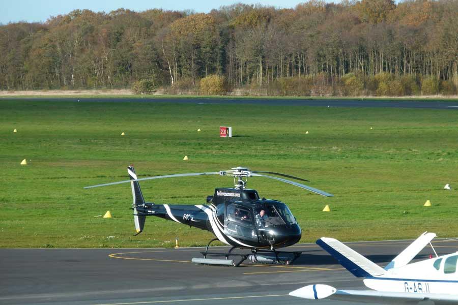 Votre incentive en Normandie, activité hélicoptère