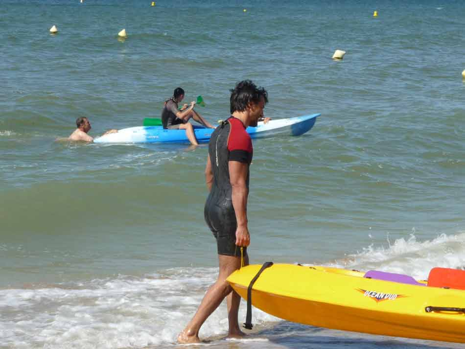 activité kayak en Normandie
