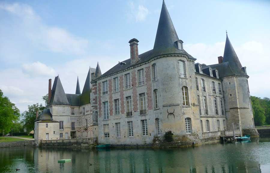 Normandie château