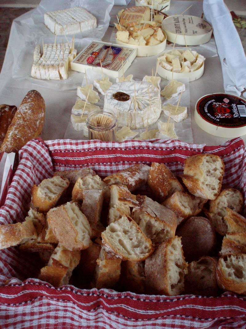 Dégustation de fromages normands