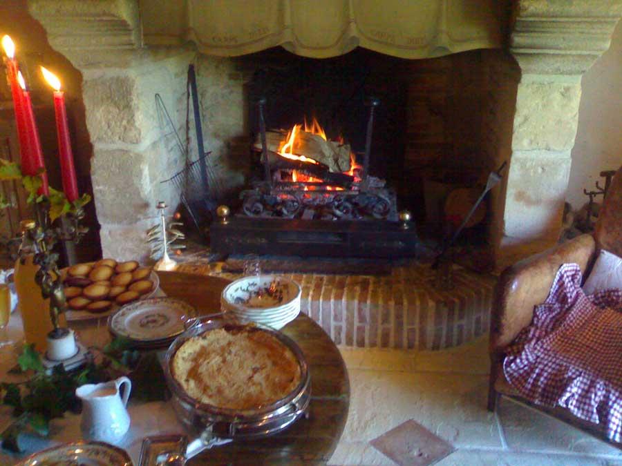 Après une Visite de haras en Normandie le gouter pause détente