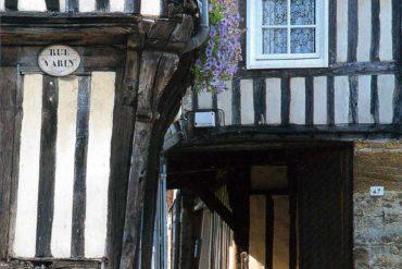 Visitez la Normandie avec ses maisons à colombages