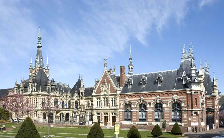 Palais Bénédictine à Fecamp