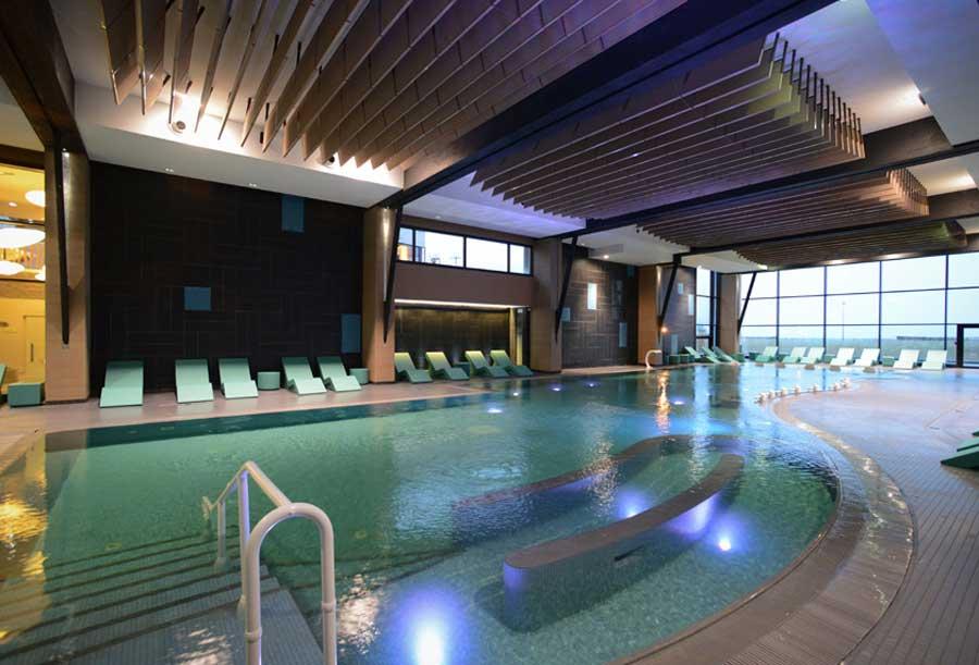 Piscine de l'Hôtel les bains de Cabourg