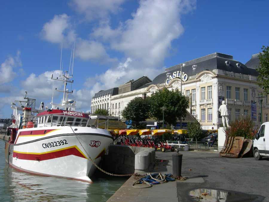 Promenade en mer en Normandie