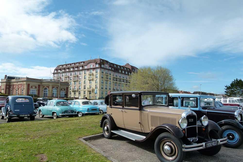 Rallye à Deauville pour séminaire en Normandie