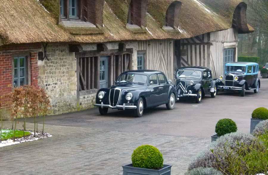 Rallye en voitures anciennes