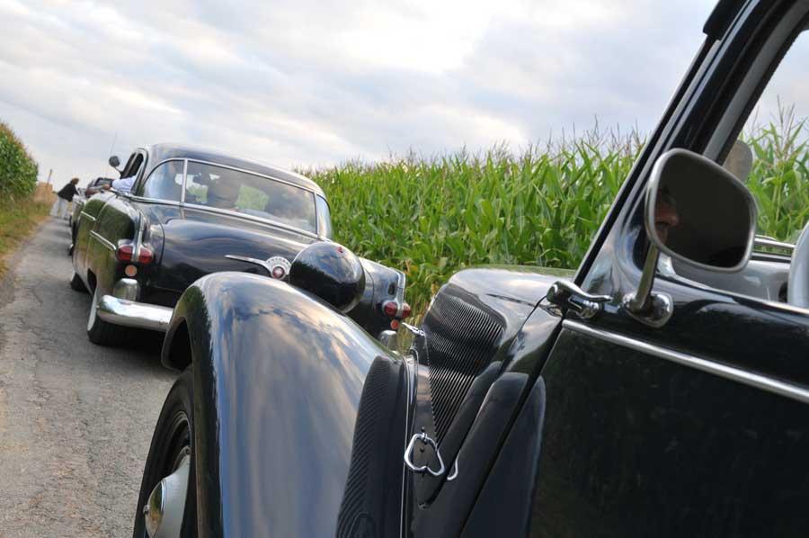 Rallye en voitures de collection, activité team building en Normandie