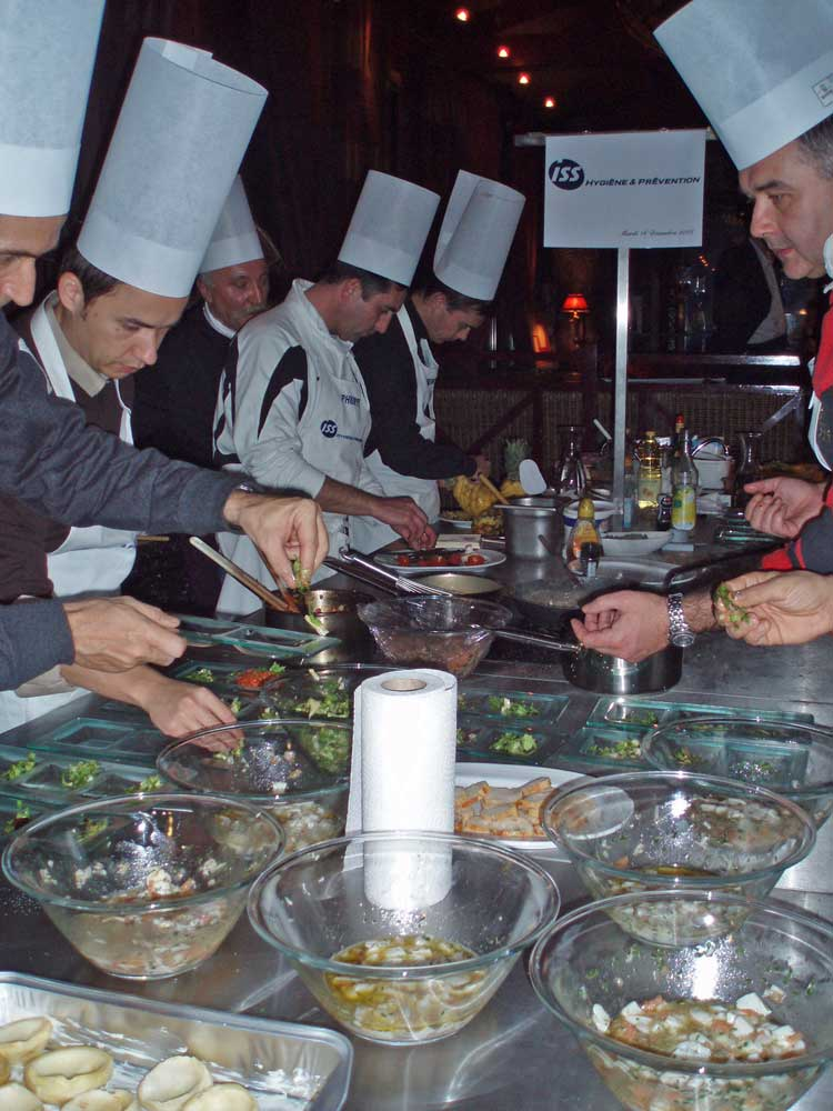 Team building activité cours de cuisine à Deauville
