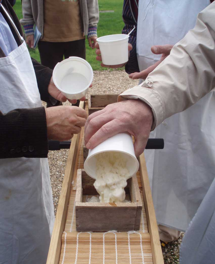 Team building fabrication de fromages normands